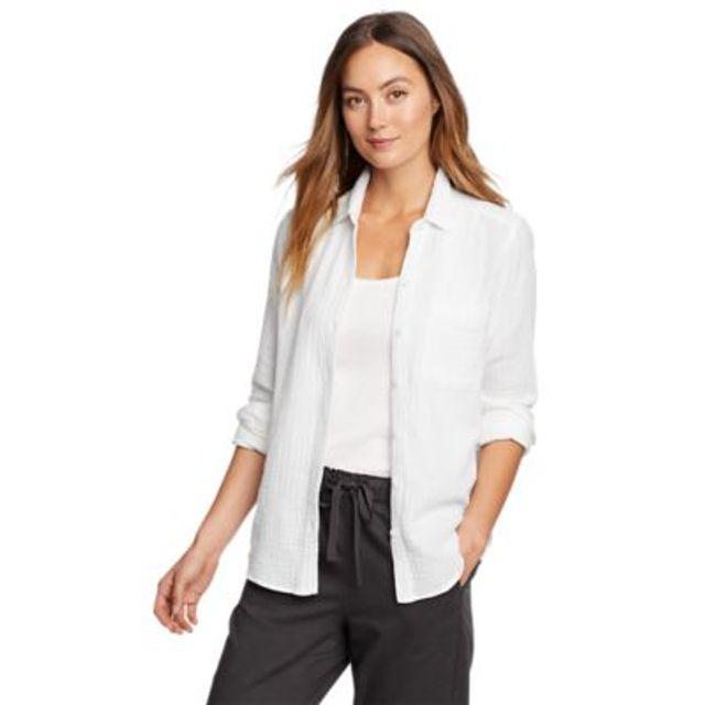 Women's Carry-On Button-Down Shirt