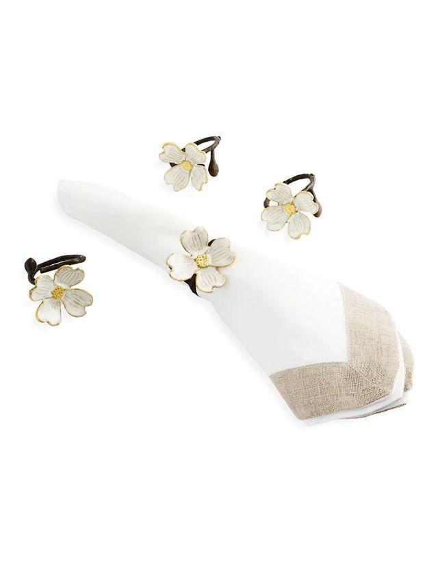 Dogwood Napkin Rings